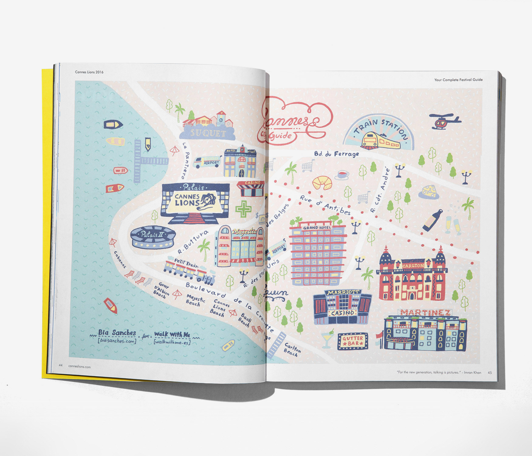 Cannes Lions Maps - Walk with me Studio : Walk with me Studio on