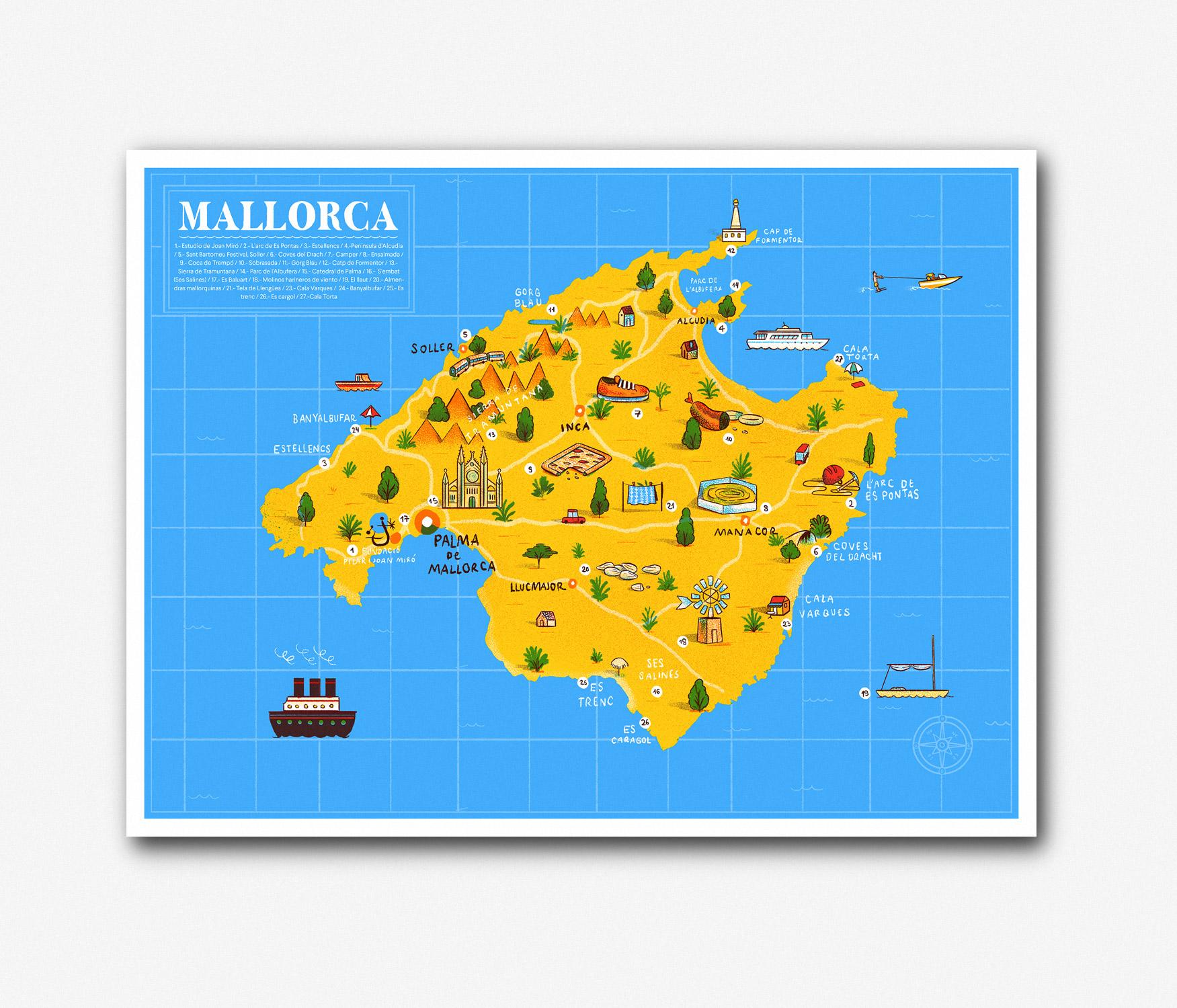Mallorca Gay Map